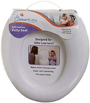 $5 如厕训练 便于携带Dreambaby 儿童马桶圈,软垫更舒适