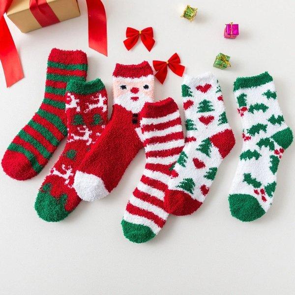 圣诞主题女士暖袜