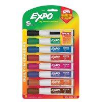 EXPO 速干可擦少味8色马克笔