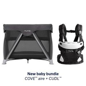 封面省$167+送$150礼卡 包邮包退折扣升级:Nuna Mixx2童车、便携游戏床+婴儿背带套装优惠