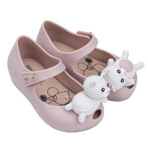 低至$12.99 有大量不常见款Mini Melissa 童鞋优惠 迪士尼系列、 受欢迎芭蕾款都参加