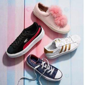 低至6折+额外7.5折Adidas、Nike儿童运动服饰鞋履大促
