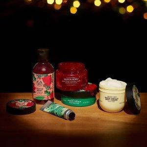 直接7.5折 收圣诞系列黑五价:The Body Shop 全场大促 收圣诞限定系列、生姜洗发水等