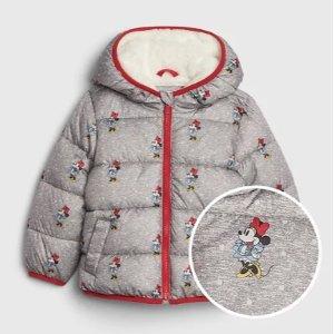GAP 婴儿、幼童迪士尼图案保暖外套优惠
