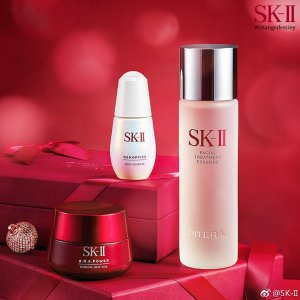 变相7折 £71收神仙水套装SK-II 全线护肤热促  神仙水、大红瓶、前男友面膜都有