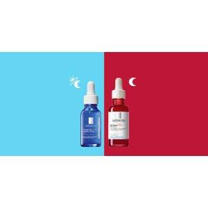 La Roche-Posay视黄醇精华液、Toleriane精华液