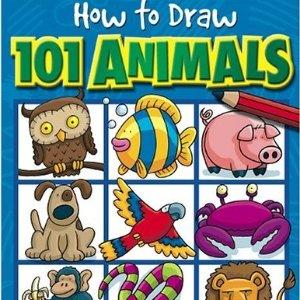 如何画101种动物