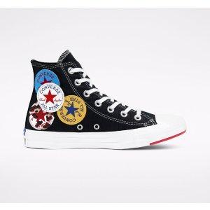 ConverseLogo Play Chuck Taylor 帆布鞋