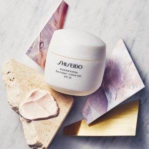 最高送$700礼卡Shiseido 美容护肤品热卖 收红腰子,白胖子