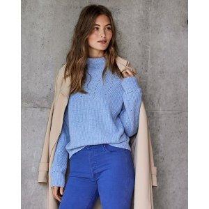 每满$171.6减$34.32Novelty Stitch 羊绒毛衣