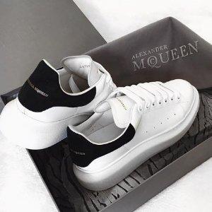 $428 (原价$650) 黄金码有货Alexander McQueen 小白鞋超低定价 收经典黑尾、红尾