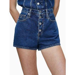 Calvin Klein Jeans牛仔短裤