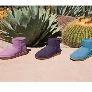 低至$14 多款多色可选Catch 精选靴子、棉拖、板鞋大促 捡漏价囤鞋过冬