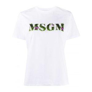 MSGM白T恤