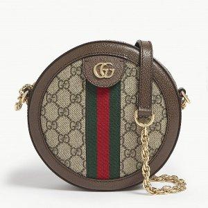 $1130(官网定价$1390)Gucci 爆款老花小圆包热卖