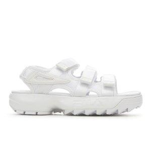 第二件半价+额外8.5折Fila Disruptor Sandal 厚底凉鞋