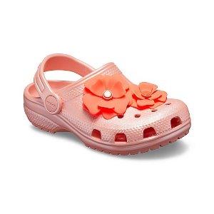 $12.5起即将截止:Crocs官网 童鞋5折热卖,轻便好穿夏日必备