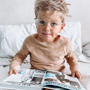 低至8折 镜架$11起Eyebuydirect 儿童眼镜 亲肤材质舒适轻巧结构 保护孩子眼睛