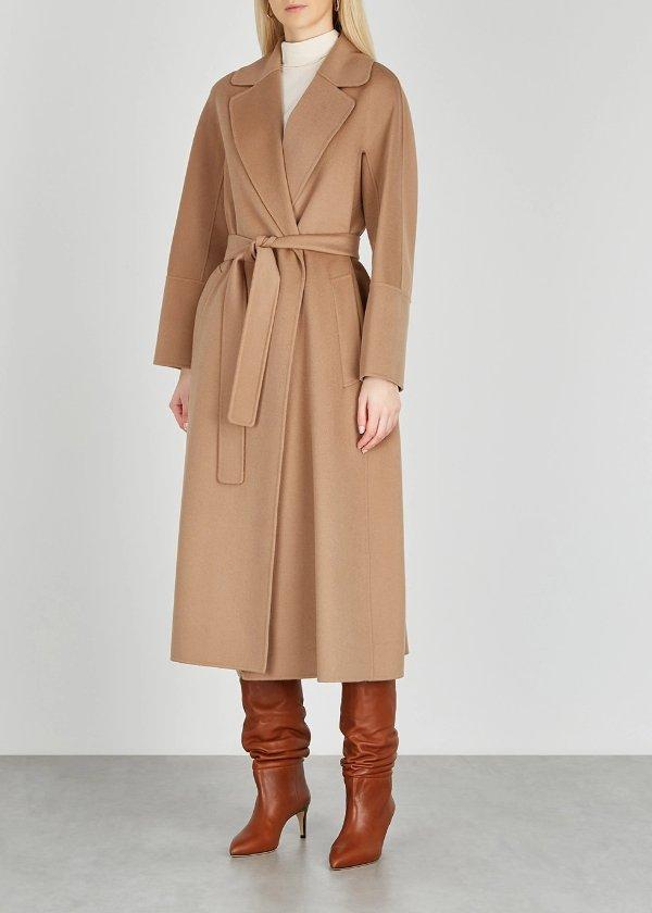 Elisa 羊驼毛大衣 大码