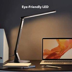 今日还有代金券优惠 €23就收TaoTronics 护眼LED台灯热促 4种颜色模式 5种亮度等级可调