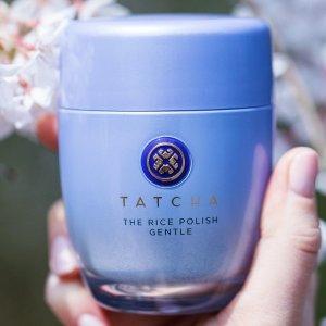 8折 或满额送正装豪礼最后一天:Tatcha 大米酵素洁颜粉 4款可选适合不同肤质