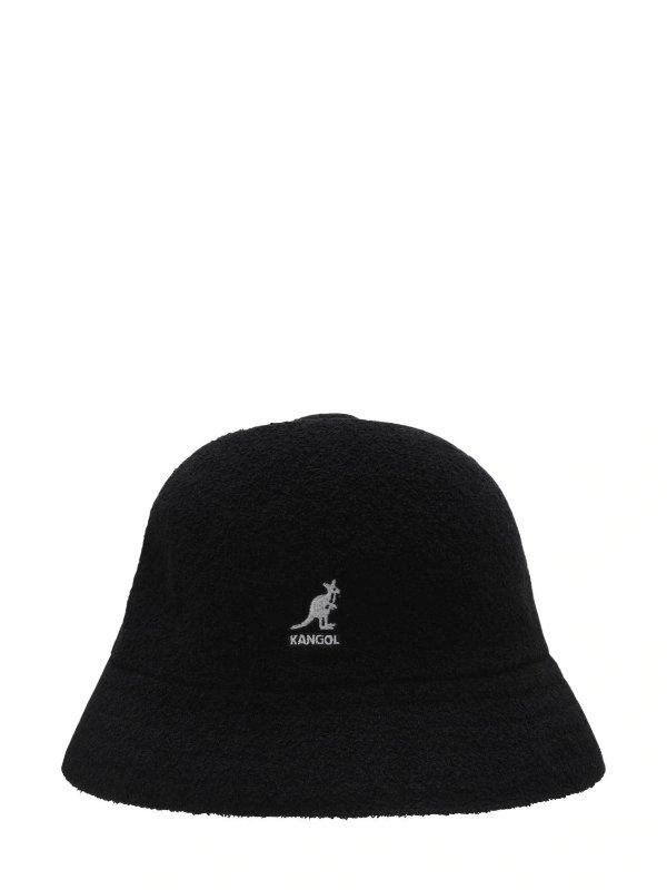 黑色毡毛渔夫帽