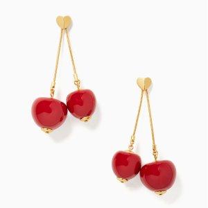 $35(原价$99)Kate Spade 惊喜特卖会 收下这串小樱桃 谁带谁甜妹