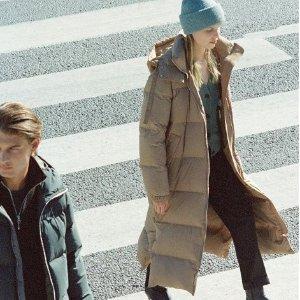 8.5折!超火棉被羽绒服£191上新:Arket 设计感美衣上新 北欧风简约设计派