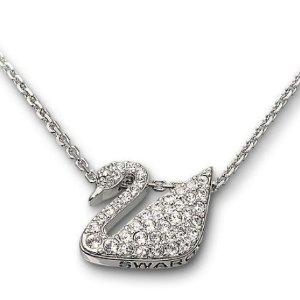 $72.98施华洛世奇Swan Necklace施华洛世奇经典天鹅项链