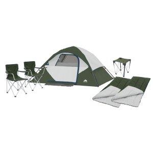 Ozark Trail 6-Piece, 4 Person Camping Combo, Tent @Walmart