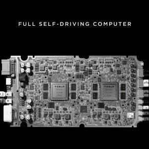 "Tesla发布全新自动驾驶模块马斯克直言 ""世界上最好的芯片"" 已经加入新Tesla"