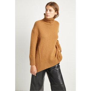 108542b956850b French ConnectionSupersoft Wool Cashmere High Neck Jumper