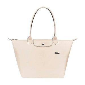 Longchamp8折,封面同款!大号饺子包
