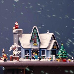 £79.99 VIP现可预订LEGO官网 圣诞老人的造访 10293 年度温馨节日新品