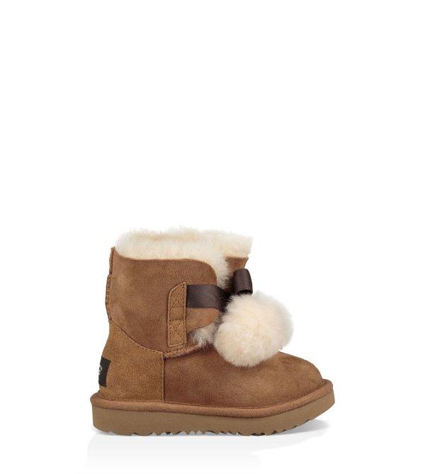 小童 Gita 毛球雪地靴