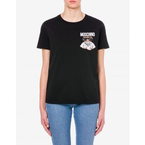 MoschinoJersey t-shirt Micro Teddy Bear - Clothing - Women - New Season - Moschino | Moschino Official Online Shop