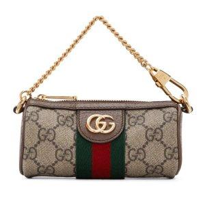 Gucci老花链条包