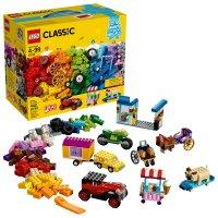 Lego 经典创意盒 10715 带很多轮子