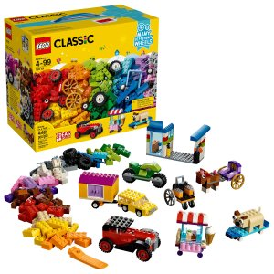 Lego经典创意盒 10715 带很多轮子