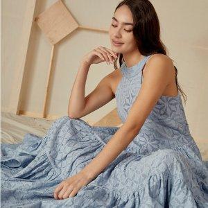 正价8折独家:Joie 夏季新款美衣热卖 收法式浪漫连衣裙