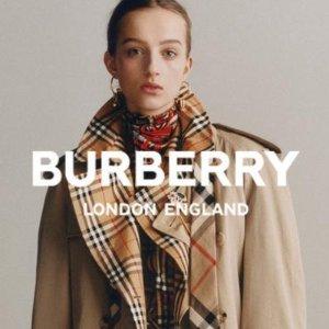低至5折+无门槛7.8折 £202收BBR格纹衬衫Burberry 11.11惊喜折扣上线 经典格纹都有 好折不容错过