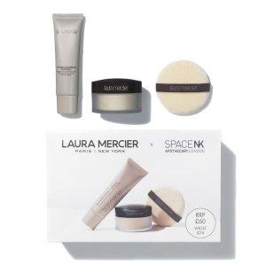 Laura Mercier价值£74散粉+妆前+散粉扑