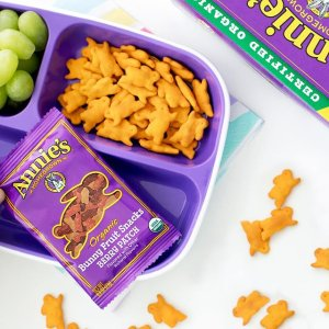 孩子最爱起司兔子意面$1.99/盒Annie's Homegroen 有机食品热卖 可爱兔子软糖饼干