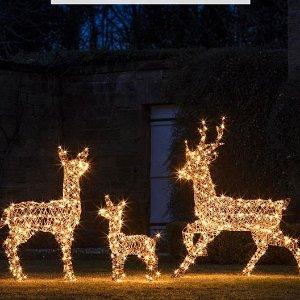 低至5折+全场满£60减£10Lights4fun 户外室内灯饰全场热促 万圣节、圣诞节装饰起来