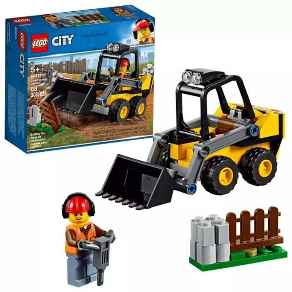 City 挖掘车 60219