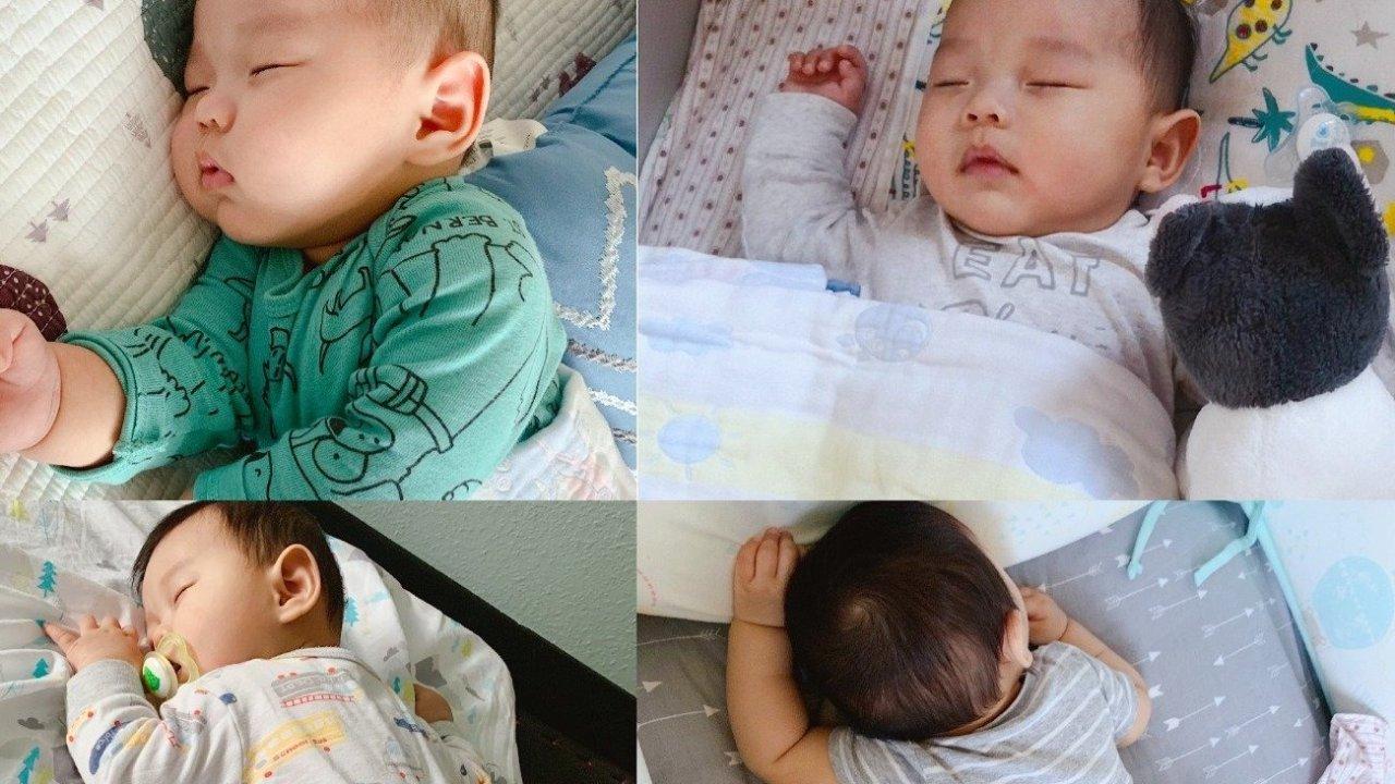 2个月断夜奶,7个月自主入睡(睡整觉)