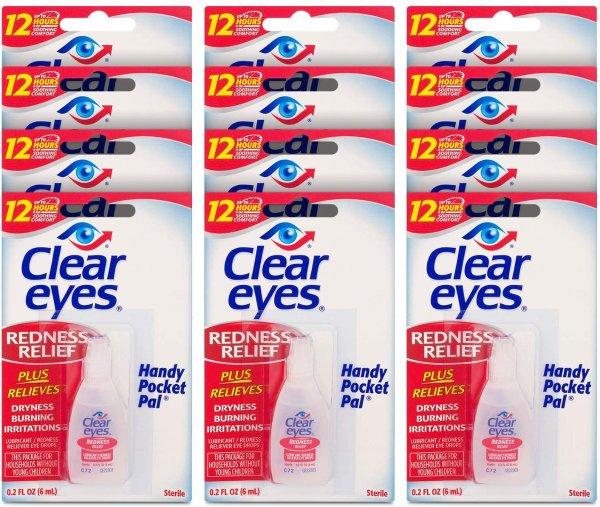 Clear Eyes 去红眼眼药水 6ml x 12瓶