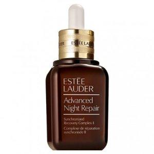 Estee Lauder送8件套小棕瓶夜间修复精华 30ml