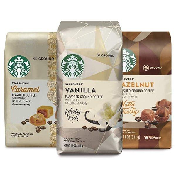 综合口味中焙咖啡粉 11oz 3包