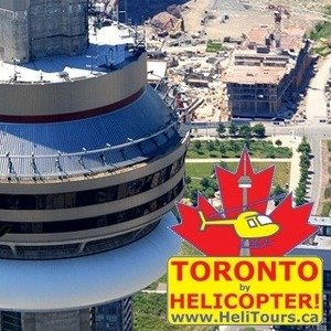现价$160.65(原价$327)独家:HeliTours 周末去哪里 坐直升机游多伦多吧 3人同行套餐